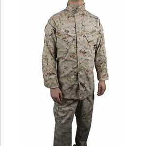 Camouflage US Marines Corps Uniform
